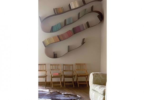 Les Chaix – bibliotheque salon